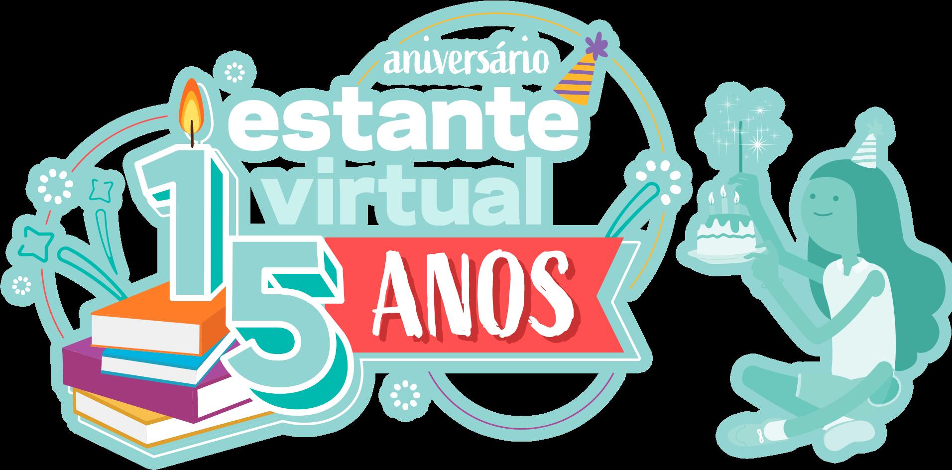 Aniversário Estante Virtual - 15 anos